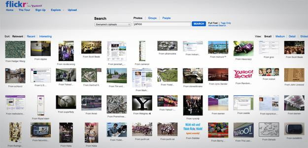 flickr yahoo photo sharing site