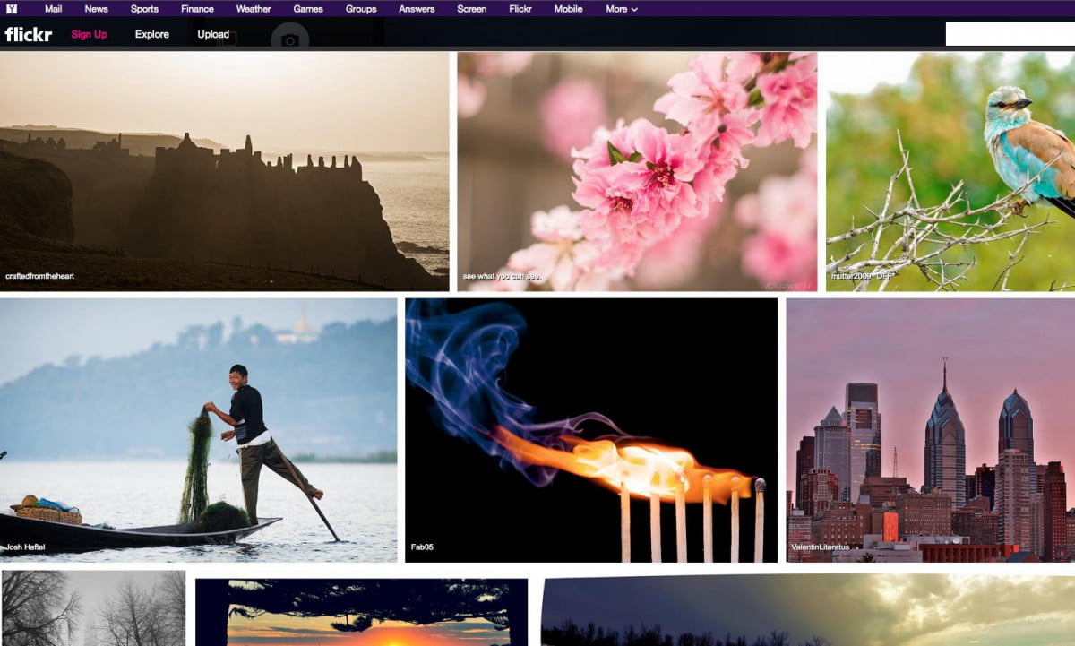 another flickr redesign way