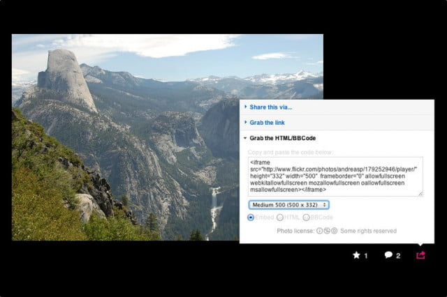 flickr unveils new dynamic embedding feature embed