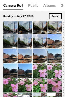 Flickr's mobile apps received a redesign, so the experience is uniform across all platforms.