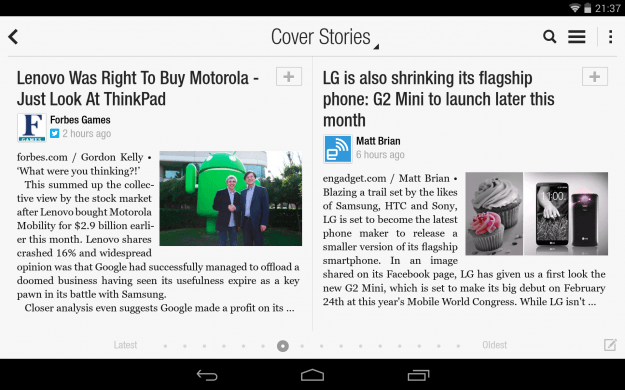 Flipboard_Android_tablet_app_screenshot