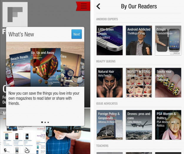 flipboard 2.0 for Android - what's new