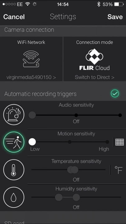 flir fx review screenshot