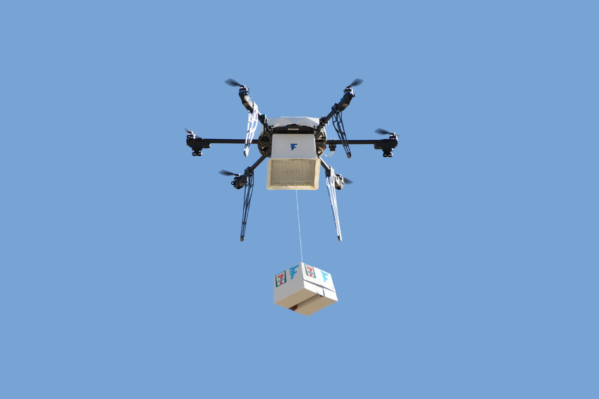 eleven deliveries by drone flirtey