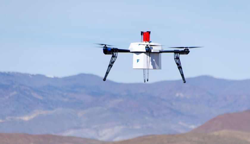 Drone deliveries edge closer after crash-free test run in Nevada