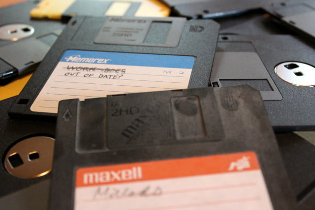 floppy disk collection