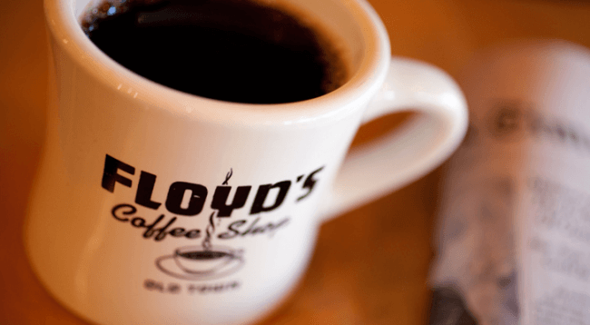 floyd's coffee shop