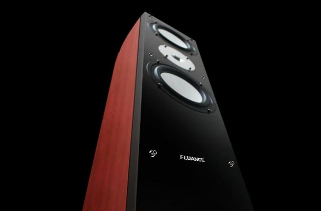 fluance xlhtb high performance surround sound three_way floorstanding loud speakers looking up macro