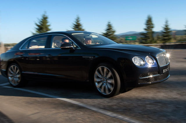 quick drive bentley continental flying spur is luxury at ludicrous speed flyingspurmotion