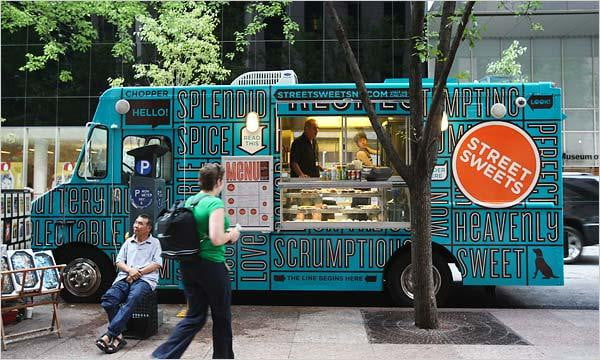 Food Truck and Revel Router