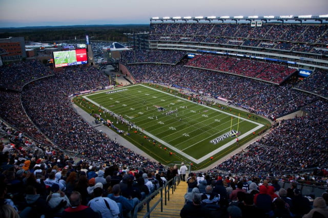 nfl thursday night football deal cbs nbc stadium american spirit