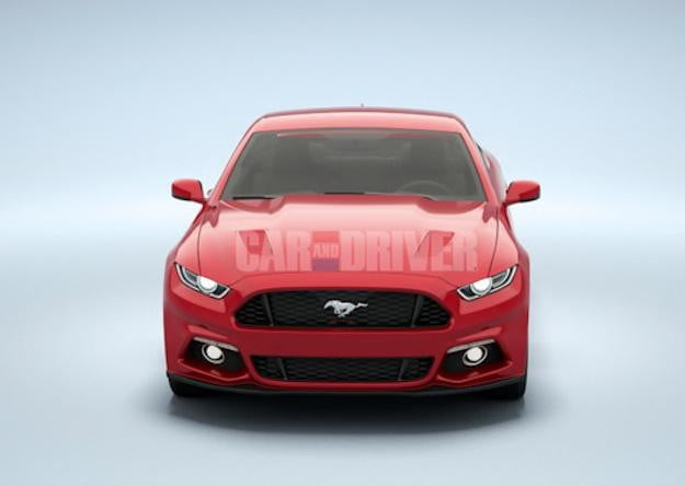 Ford 2015 Mustang CD