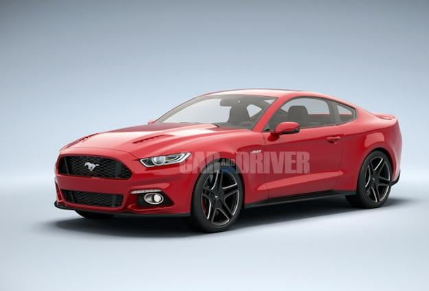 Ford 2015 Mustang CD2