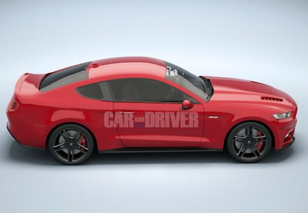 Ford 2015 Mustang CD3