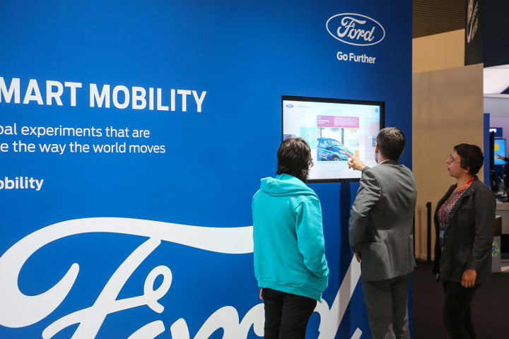 we talked mobility and autonomous cars with forward looking ford  mwc