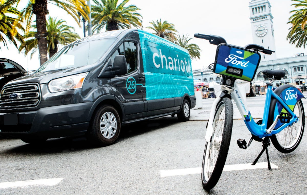 ford chariot motivate mobility services and gobikes