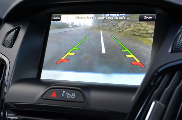 ford electric focus backup camera