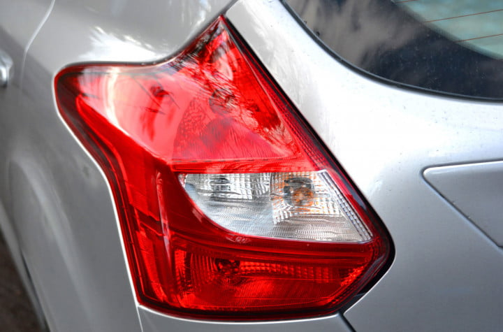 ford focus electric review rear lights