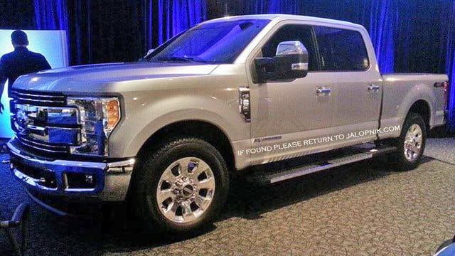 ford super duty leaked f spied
