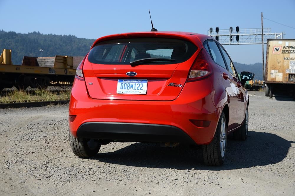 Ford Fiesta 2012 review exterior back large