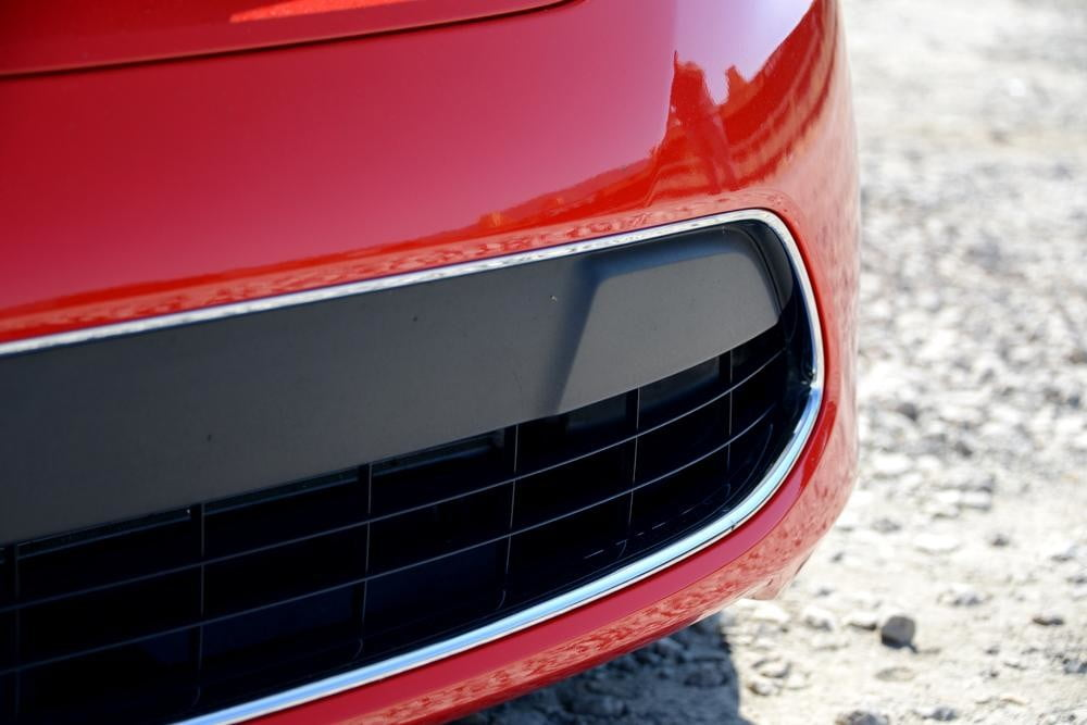 Ford Fiesta 2012 review exterior front grill large