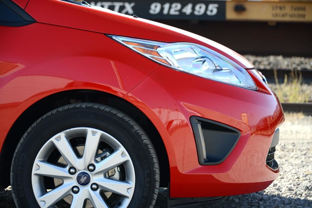 Ford Fiesta 2012 review exterior front right wheel large large