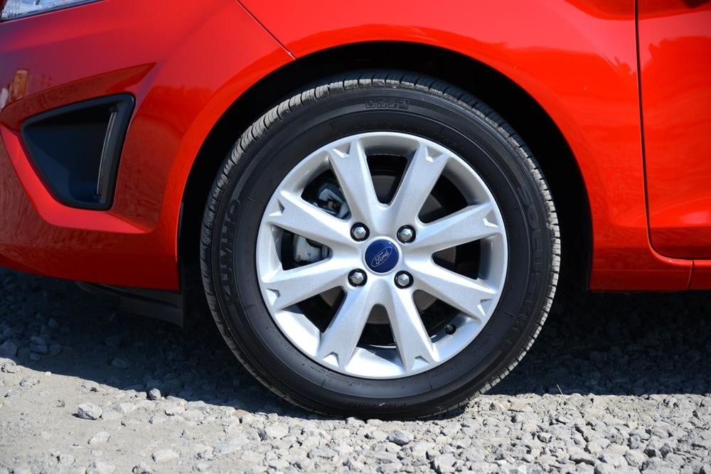 Ford Fiesta 2012 review exterior left wheel side large