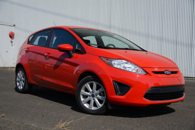 Ford Fiesta 2012 review exterior right side compact car