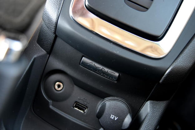 Ford Fiesta 2012 review interior inputs microsoft sync usb headphones