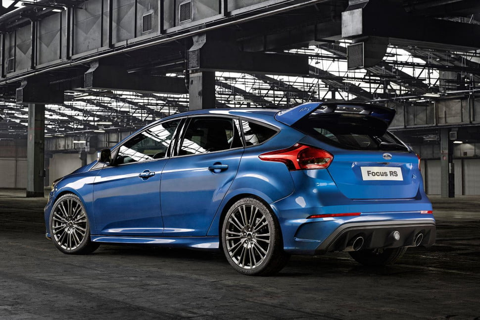 ford focus rs manual and awd only