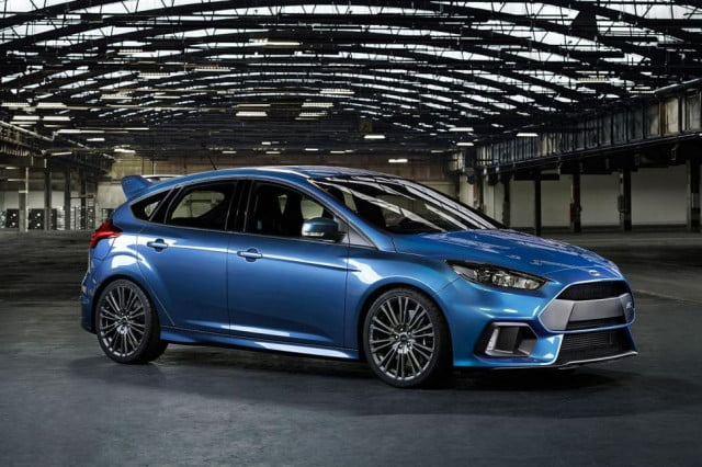 ford focus rs drift function