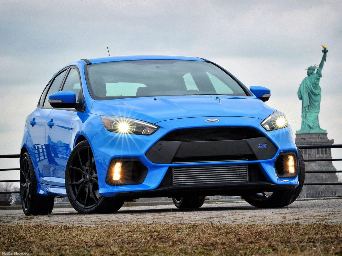 fords scorching hot focus rs is now rated at  hp ford front
