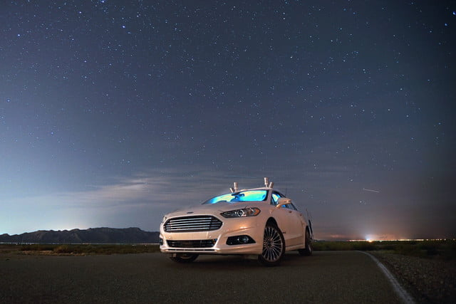ford autonomous cars need virtual certification fusion hybrid night testing