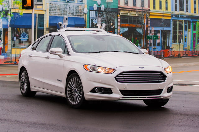ontario text program driverless cars interest ford fusion hybrid autonomous test vehicles  a