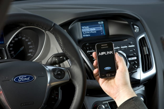 Ford Applink allows your car to interact with apps on your smartphone