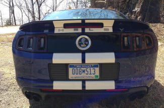 Ford Mustang Shelby GT 500 rear
