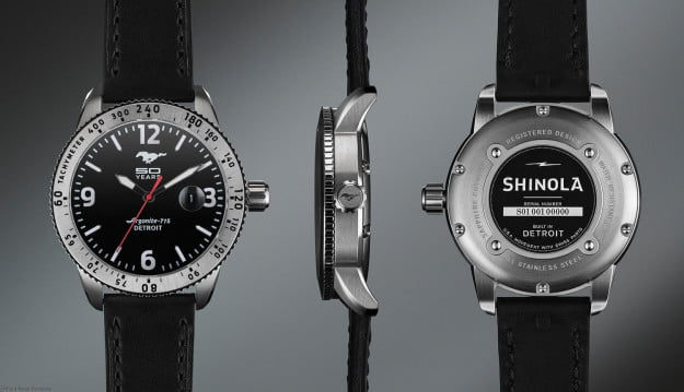 Ford Mustang Shinola Watch