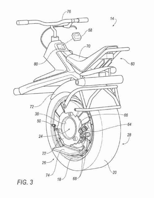 ford unicycle patent