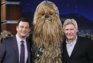 Ford with Chewie