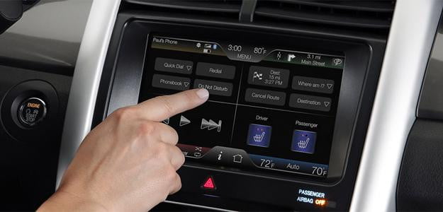 ford sync computer in car