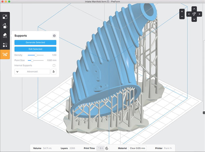 formlabs form  review preform software