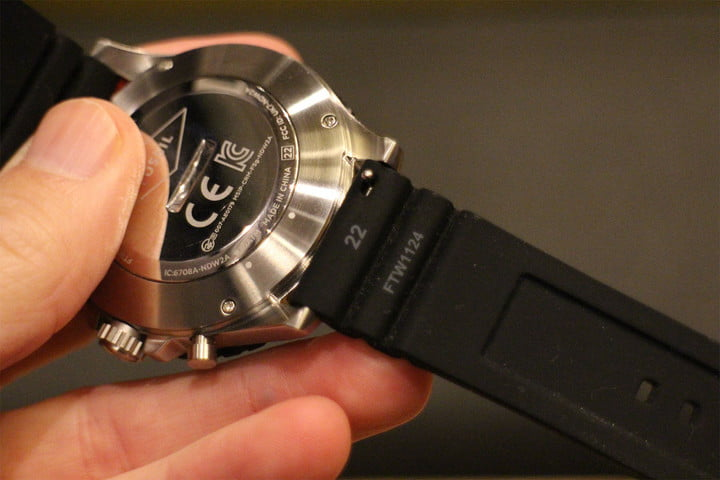fossil q crewmaster hybrid review strap