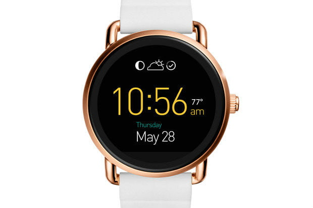 Fossil Q Wander Touchscreen Silicone Smartwatch