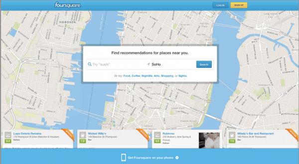 foursquare search