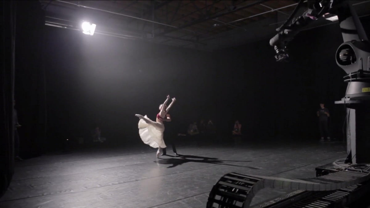 motion capture technology robot camera make captivating ballet video francesca da rimini