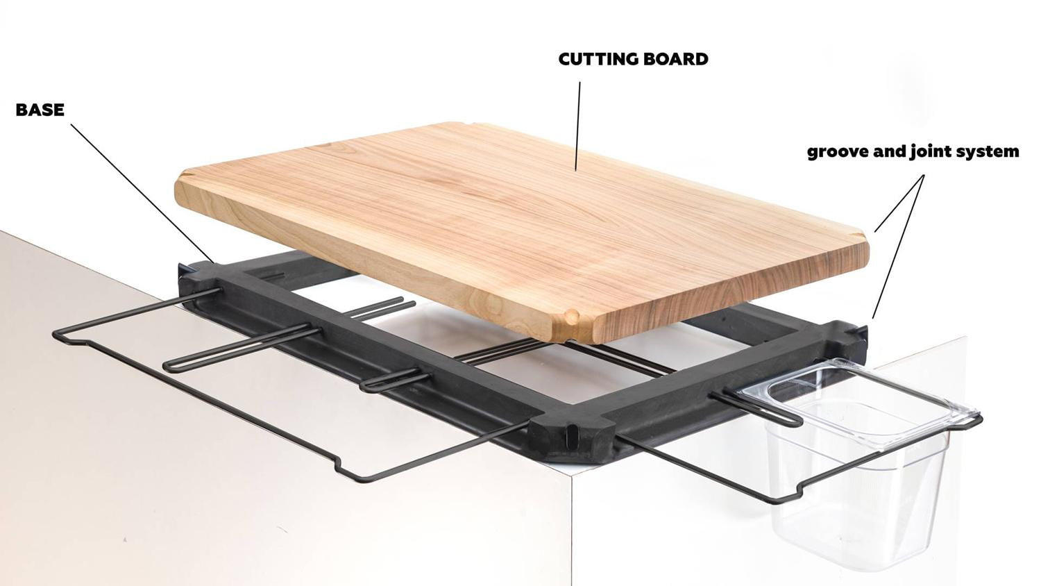 Frankfurter Brett Is A Pro Style Cutting Board For Home