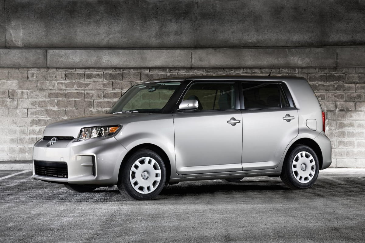 scion discontinues the xb wagon at end of  front