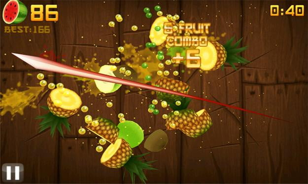 fruit ninja screenshot windows phone 7 game