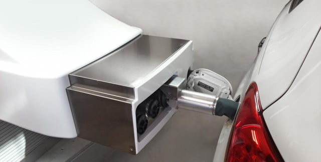 s future now robot can refuel car stay behind wheel fuelmatics automatic refueling system