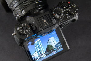 Fujifilm X-T1 camera review top dials